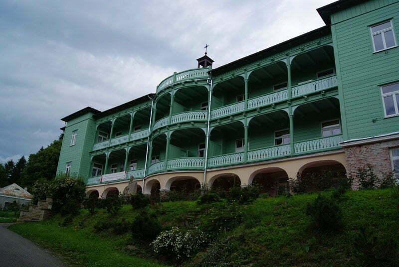 Klasztor w Komańczy / Fot. Aneta Jamroży