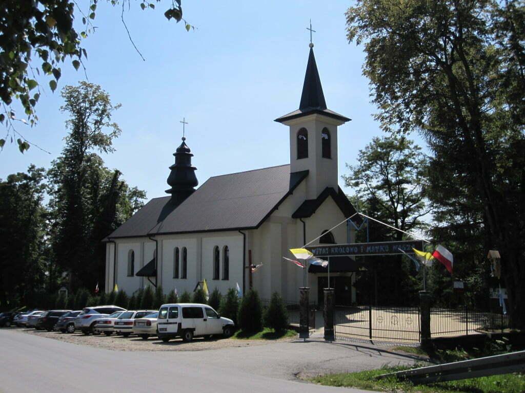 Polańczyk i kościół / fot. GringoPL