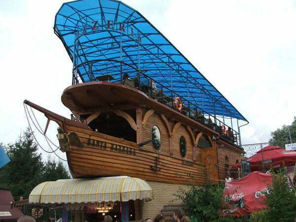 Solina - pizzeria w kształcie statku Fot. kinio/cc/flickr.com