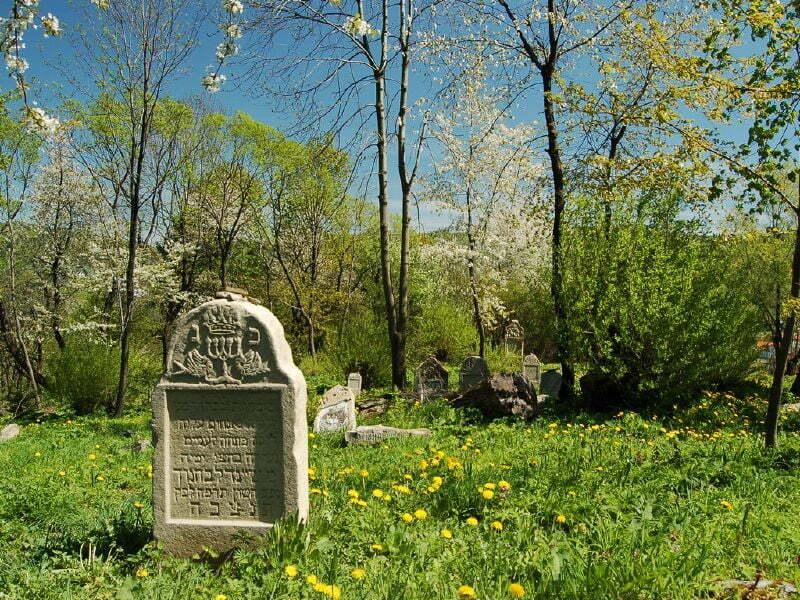 Cmentarz żydowski w Baligrodzie / fot. eye see/cc/flickr.com