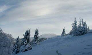 Droga na Smerek zimą / fot. Aneta Jamroży