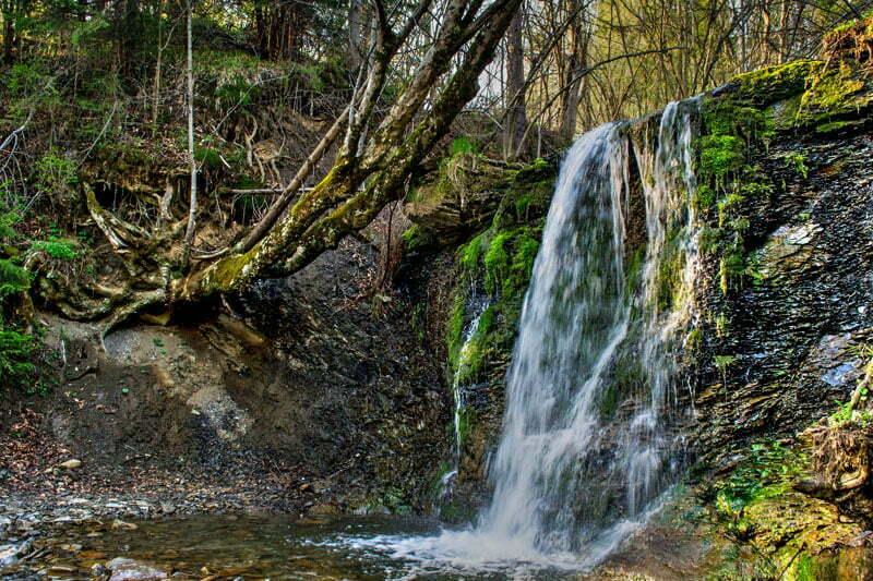 Wodospad w Wetlinie / fot. Pawel cc flickr.com