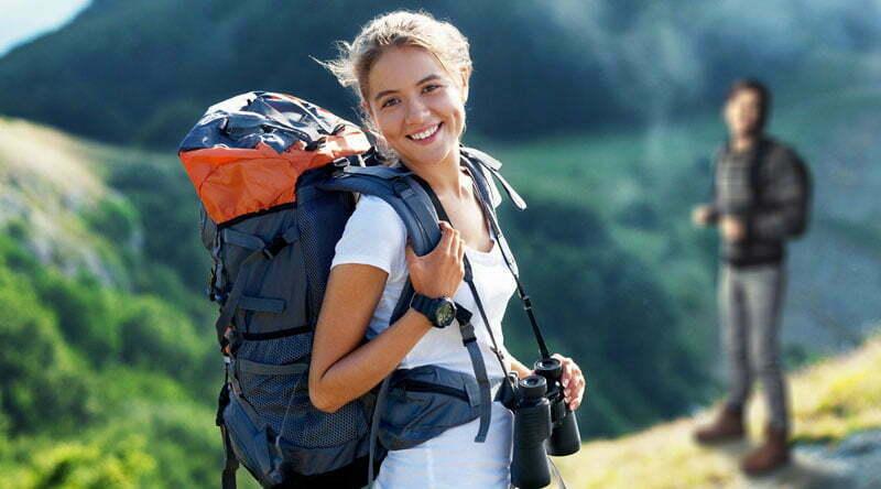 Travel, traveler, backpack.