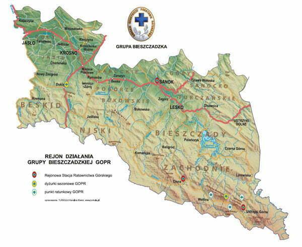 Źródło: www.bieszczady.gopr.pl