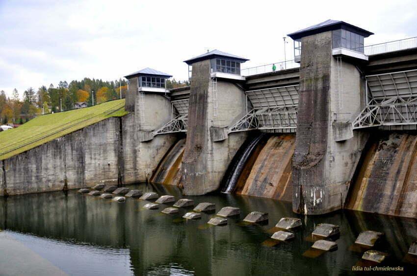 Hydroelektrownia Myczkowce-Zwierzyń / fot. Lidia Tul-Chmielewska