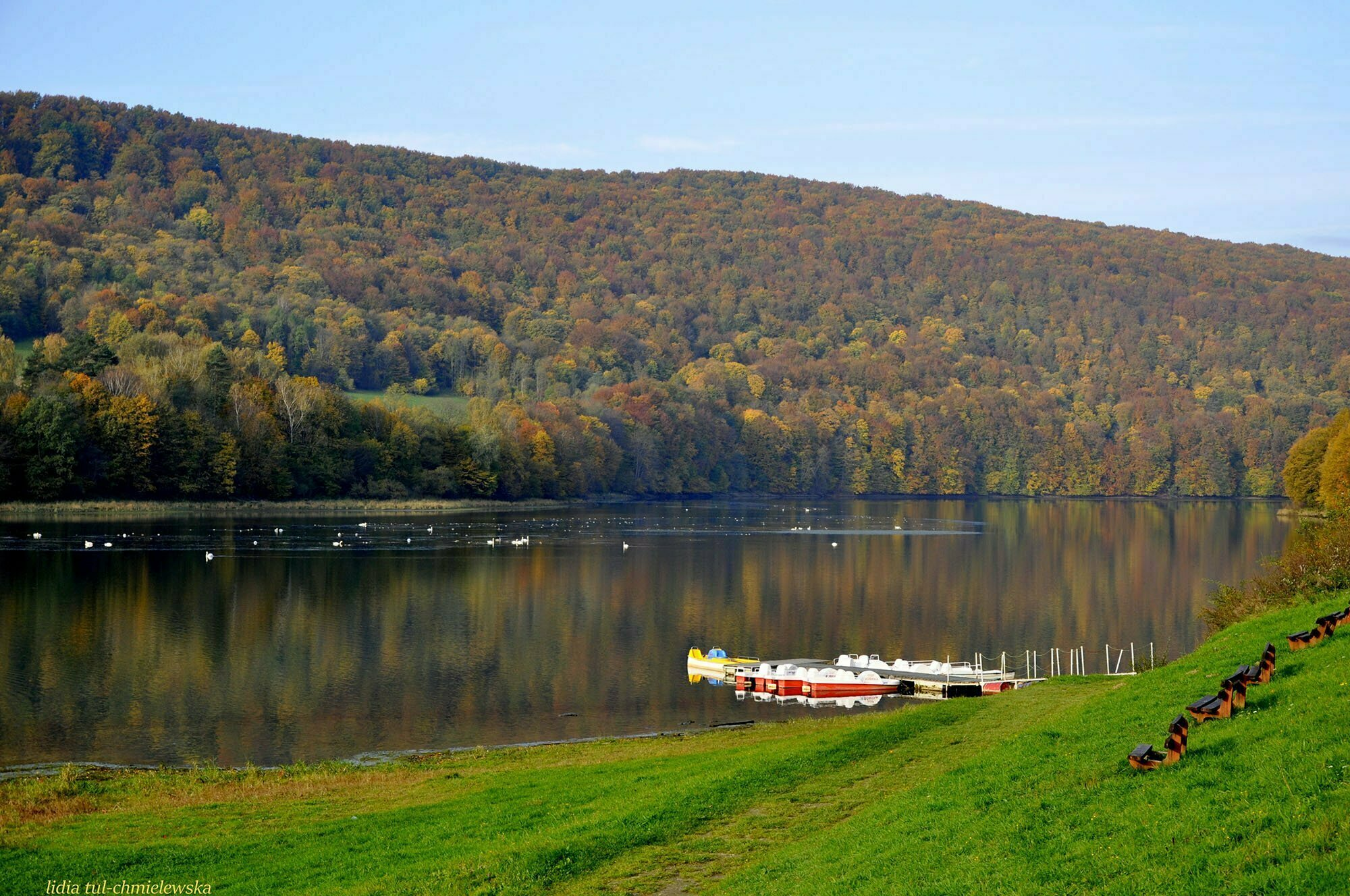 Jezioro Myczkowskie / fot. Lidia Tul-Chmielewska