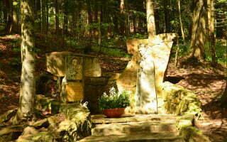 Komańcza - pomnik Kardynała Tysiąclecia