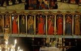 Fragment ikonostasu palietowo-reliefowy w Górzance / fot. Lidia Tul Chmielewska