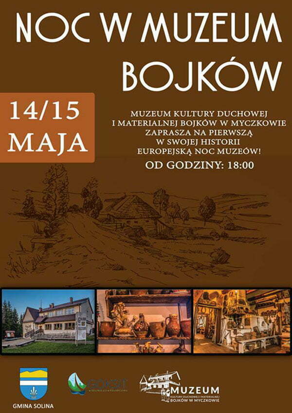 noc-muzeow-muzeum-bojkow-2016 PLAKAT