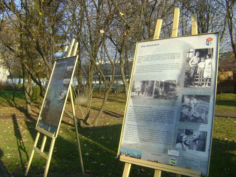 Miejsce, gdzie mieszkali kiedyś Beksińscy w Sanoku Fot. Aneta Jamroży