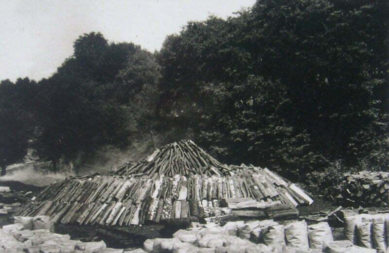 Mielerz - zdjęcie archiwalne autorstwa Edwarda Marszałka, na jednej z tablic informacyjnych Fot. Aneta Jamroży