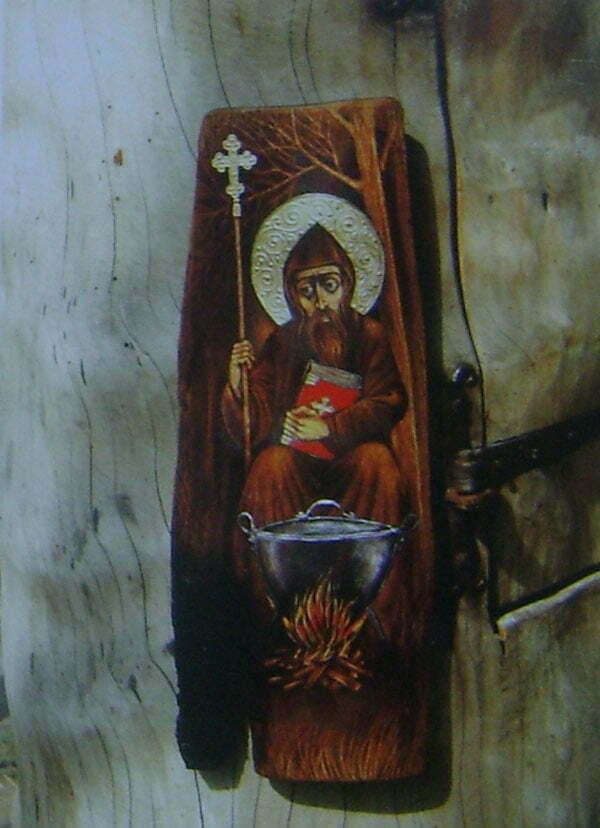 św. Tybald z Provins autorstwa Zdzislawa  Pękalskiego Fot. Aneta Jamroży