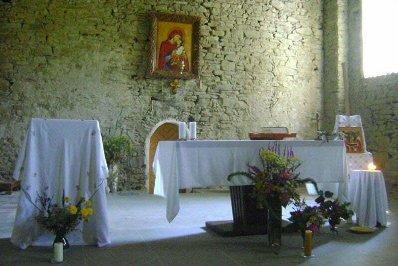 Wnętrze cerkwi w Łopience/Fot. Aneta Jamroży