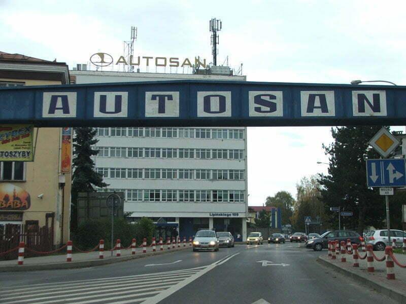 """""""Autosan"""" w Sanoku/Fot. Aneta Jamroży"""