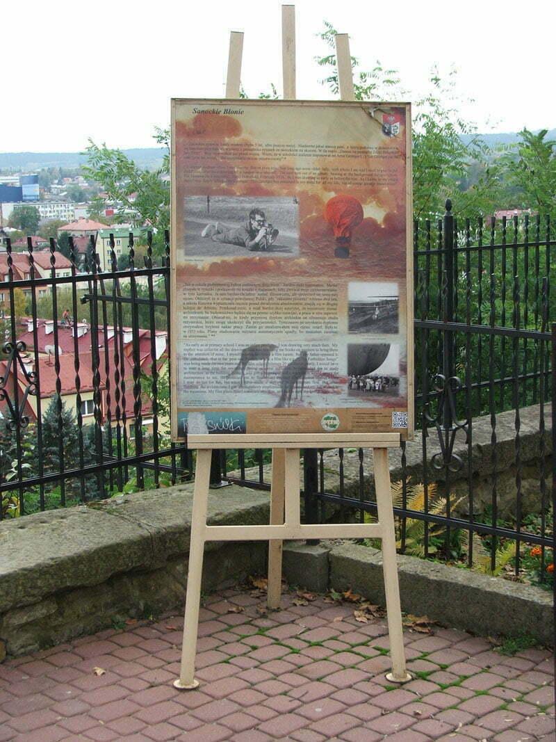 Sztaluga - przystanek Sanockie Błonie/Fot. Aneta Jamroży