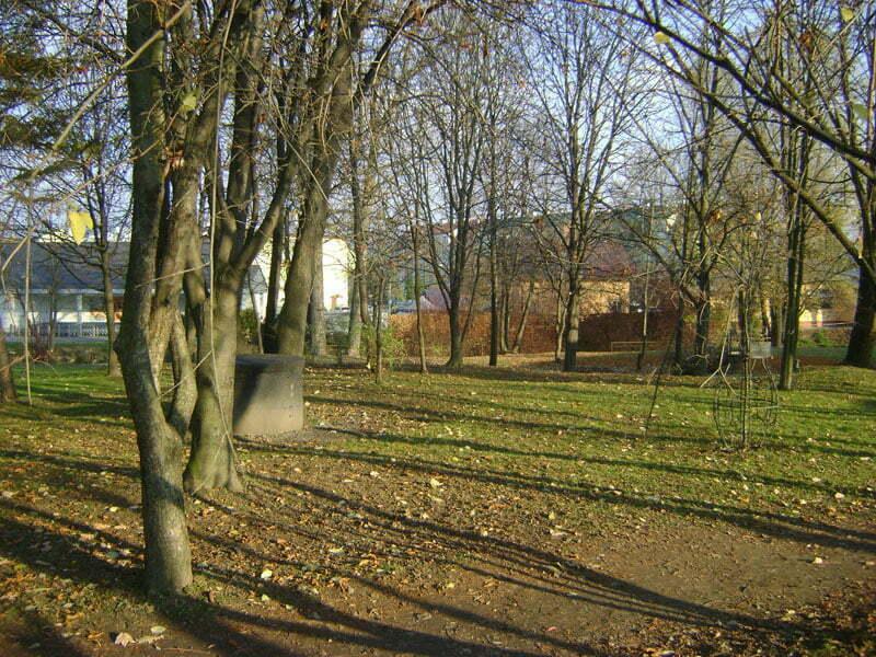 Miejsce, gdzie stał kiedyś dom Beksińskich w Sanoku/Fot. Aneta Jamroży