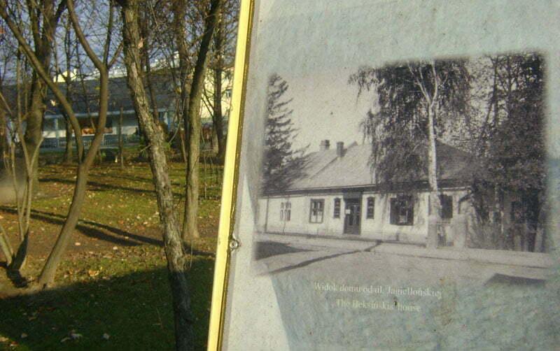 Miejsce, gdzie stał kiedyś dom Beksińskich/Fot. Aneta Jamroży