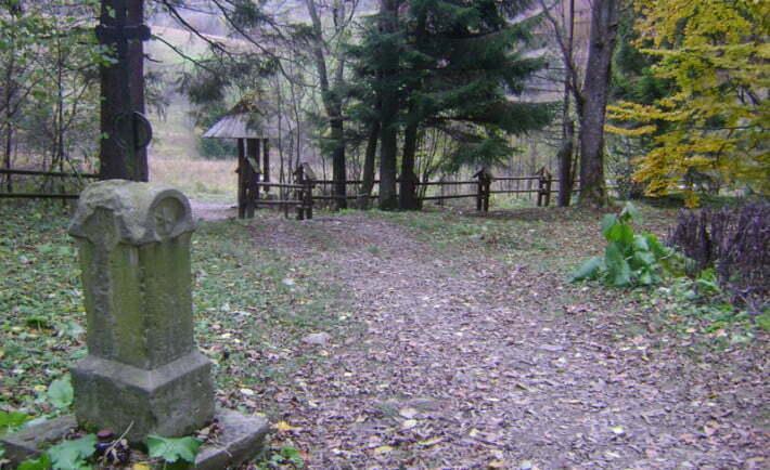 Cmentarz w Brzegach Górnych/Fot. Aneta Jamroży