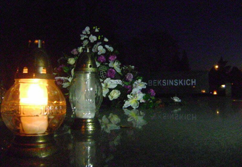 Grobowiec Rodziny  Beksińskich/Fot. Aneta Jamroży