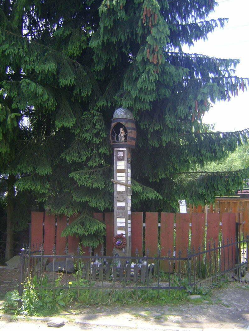 Kapliczka Pamięci w Cisnej/Fot. Aneta Jamroży