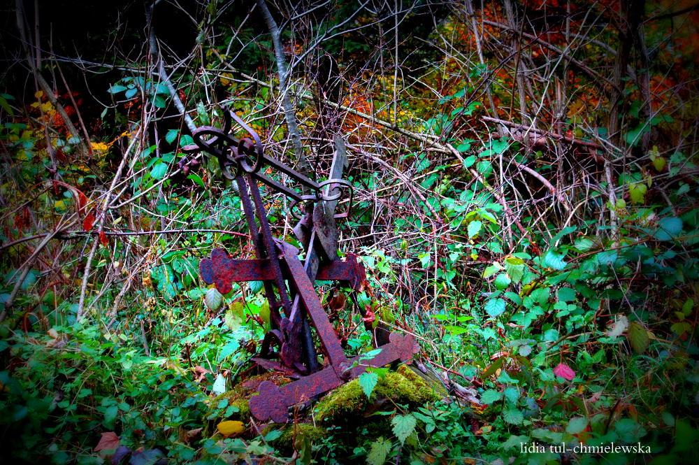 Huczwice - krzyż z kopuły / fot. Lidia Tul-Chmielewska