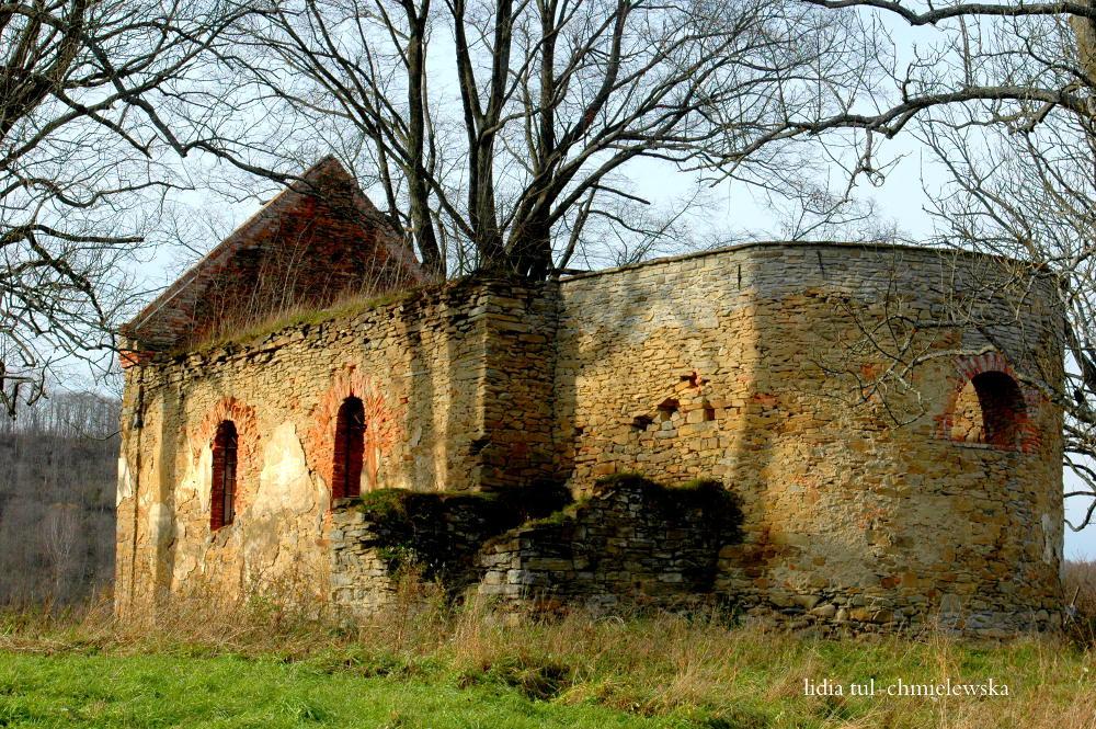 Ruina cerkwi w Krywe / fot. Lidia Tul-Chmielewska