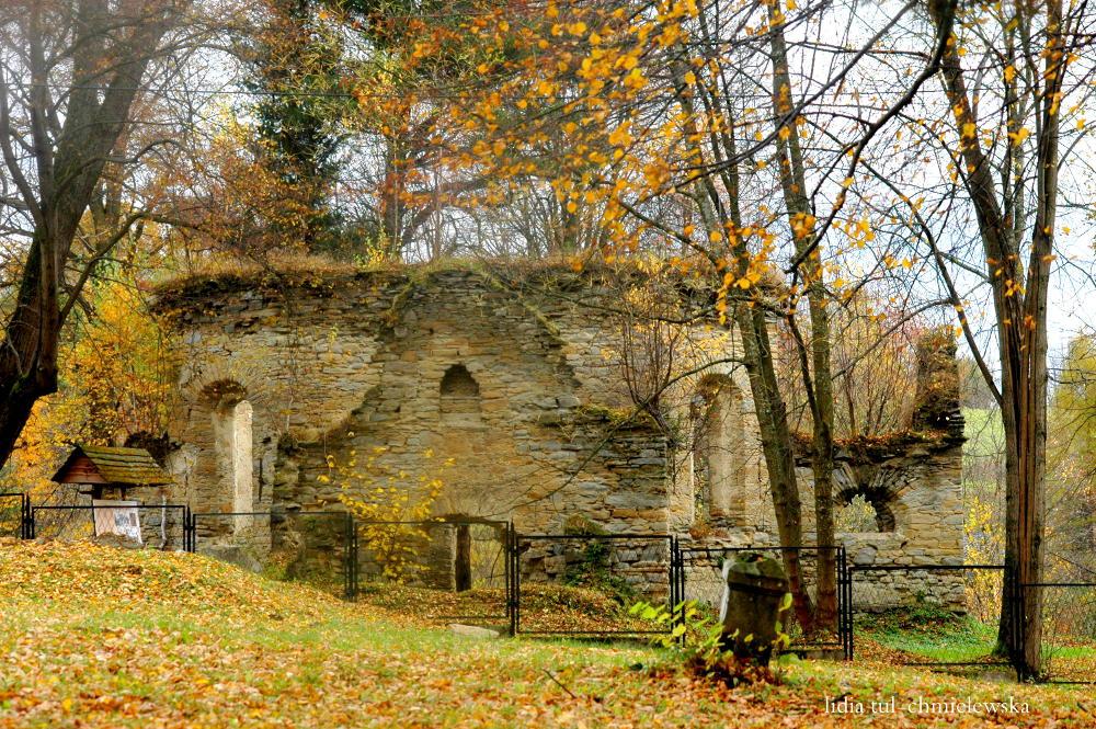 Ruiny cerkwi w Berezce / fot. Lidia Tul-Chmielewska