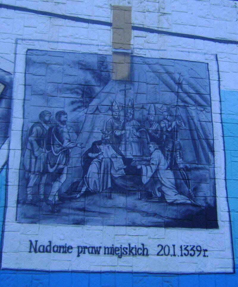 Mural w Sanoku/Fot. Aneta Jamroży