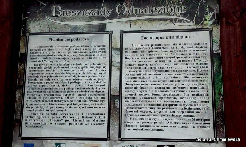 """Ścieżka historyczna """"Bieszczady Odnalezione"""" / fot. Lidia Tul-Chmielewska"""