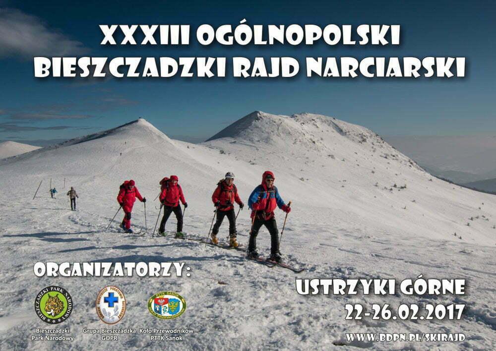 Bieszczadzki rajd_narciarski_2017