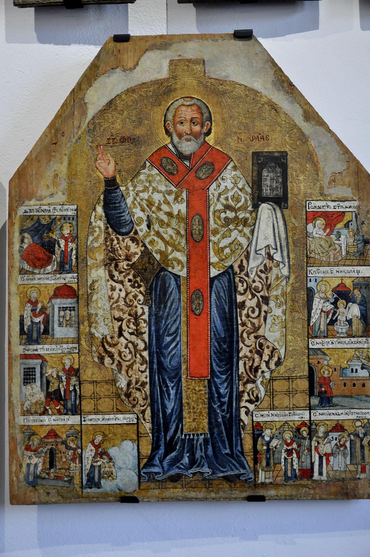 Muzeum Historyczne w Sanoku św. Mikołaj / fot. Lidia Tul-Chmielewska