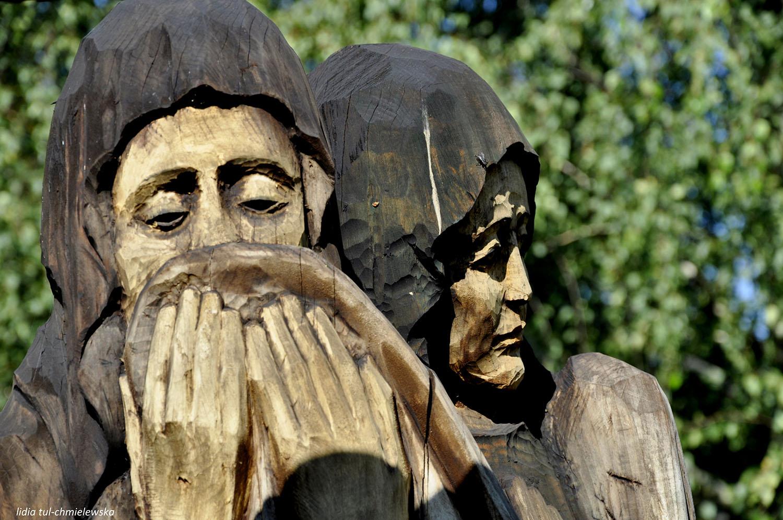 Droga Krzyżowa w Zagórzu, klasztor Karmelitów Bosych / Lidia Tul-Chmielewska