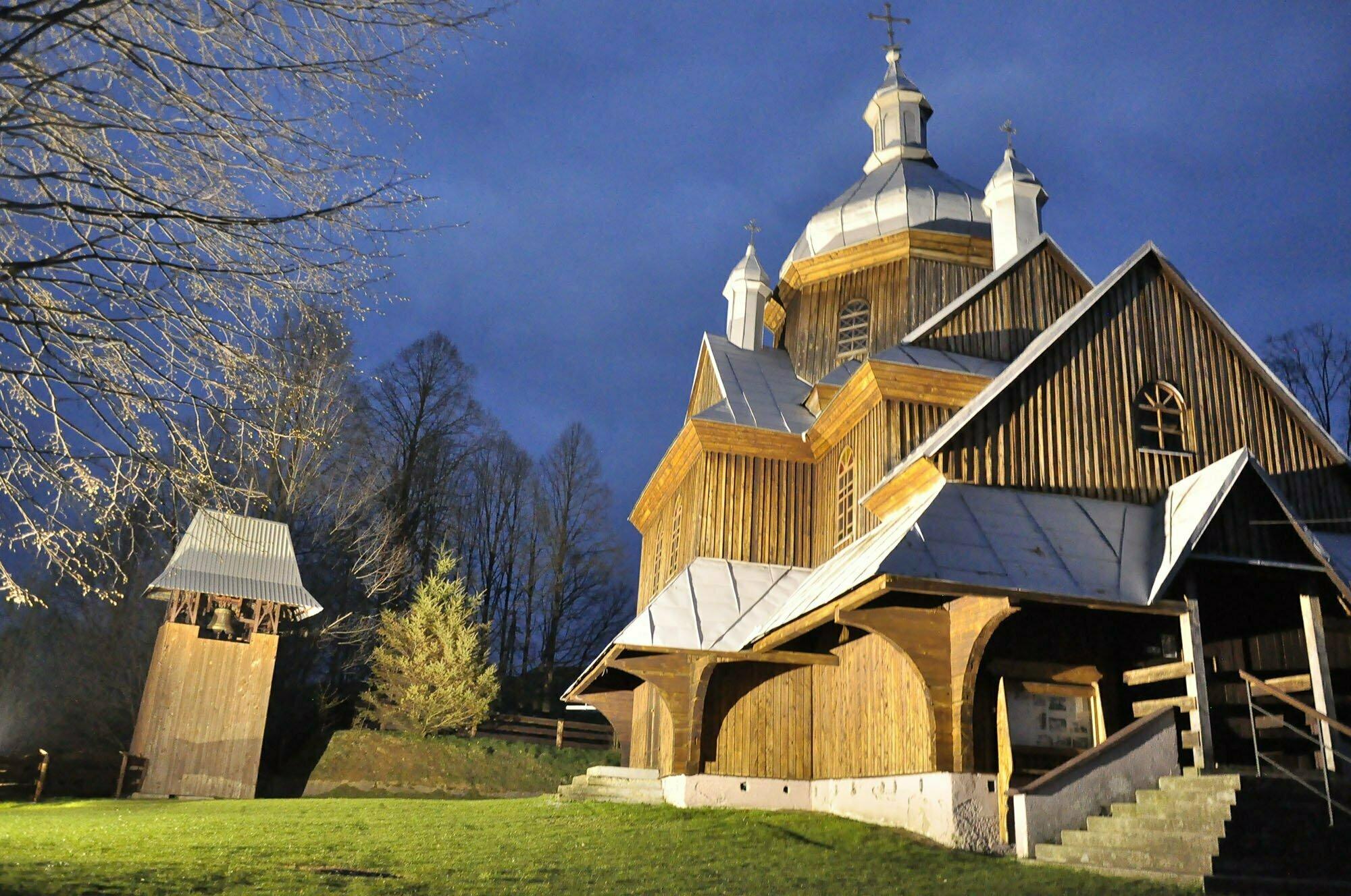 Cerkiew w miejscowości Hoszowczyk / fot. Lidia Tul-Chmielewska