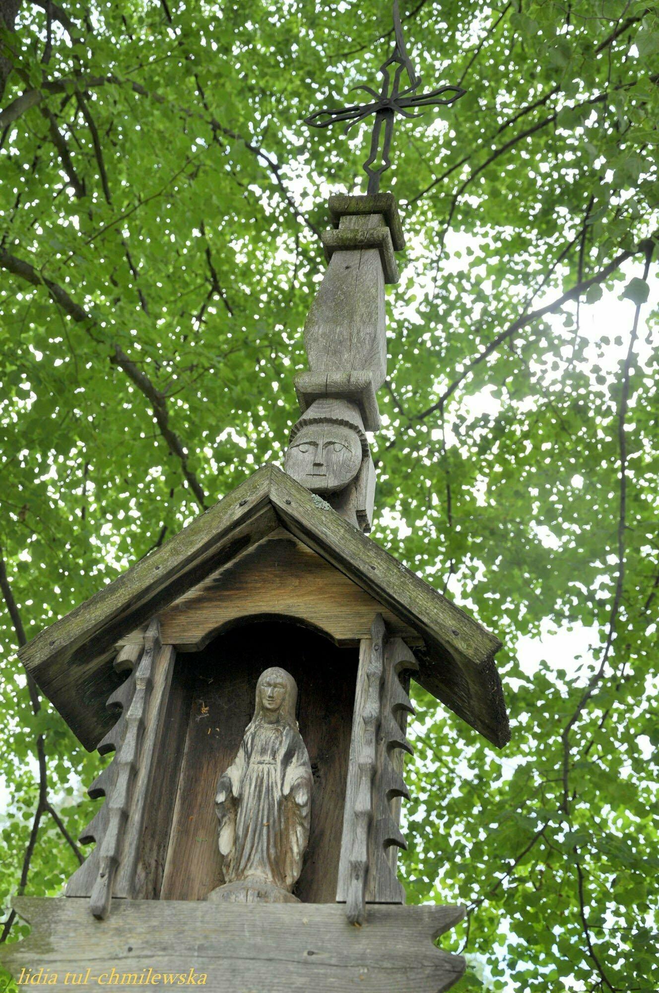 Kapliczka szafkowa z Jaszczwi (skansen w Sanoku) / fot. Lidia Tul-Chmielewska