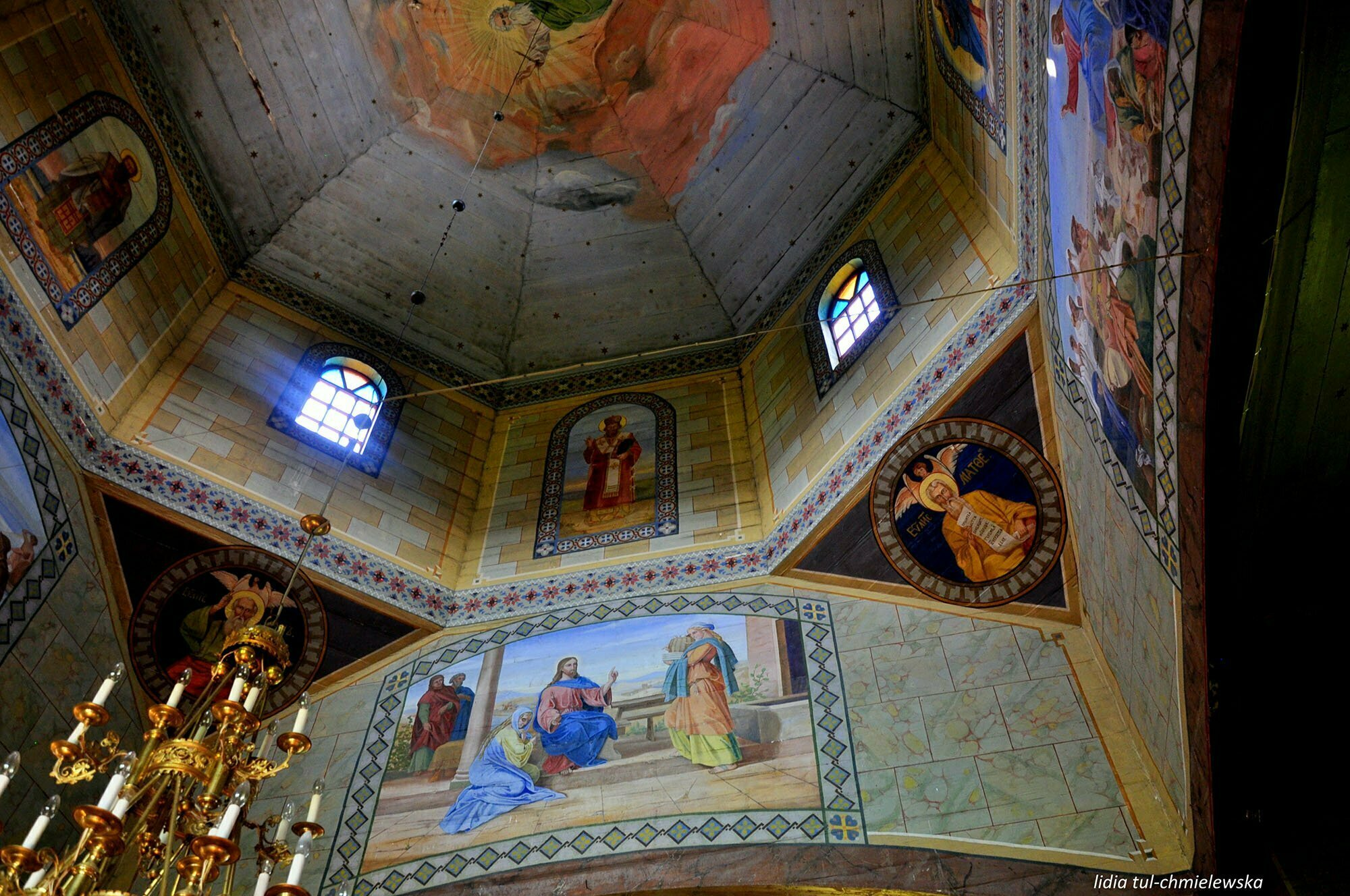 Cerkiew w miejscowości Leszczowate / fot. Lidia Tul-Chmielewska