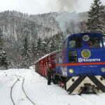 fot. Bieszczadzka Kolejka Leśna rusza w zimową trasę