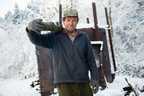 Józef Zieliński -  wypalacz/Fot.  Mat. Discovery Channel