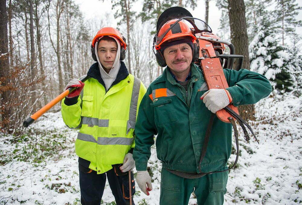 Krzysztof i Krystian Strzempkowie/Fot.  Mat. Discovery Channe