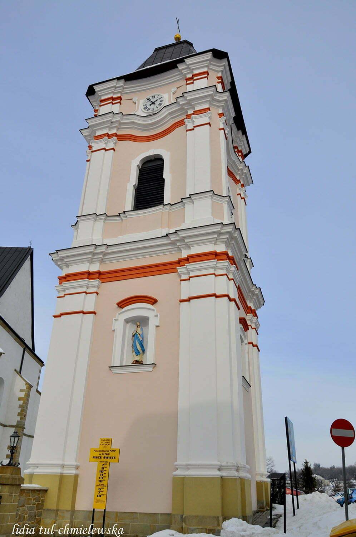 Dzwonnica z pierwszą figurą Matki Boskiej  / fot. Lidia Tul-Chmielewska
