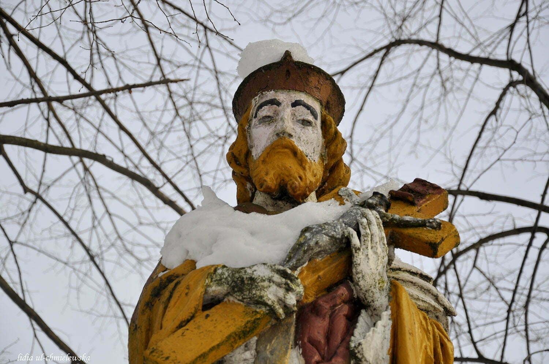 Figura św. Jana Nepomucena / fot. Lidia Tul-Chmielewska