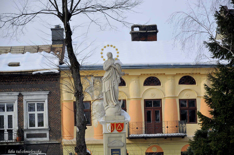 Figura Matki Boskiej na Plantach / fot. Lidia Tul-Chmielewska