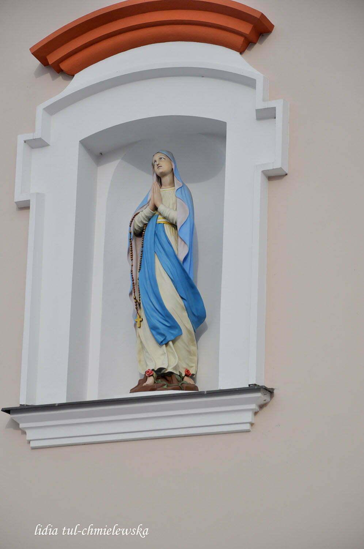 Nisza w dzwonnicy z pierwsza figurka Matki Boskiej z Plant  / fot. Lidia Tul-Chmielewska