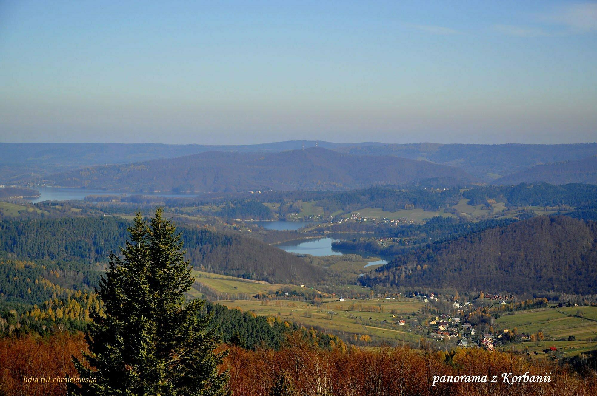 Panorama z Korbanii  / fot. Lidia Tul-Chmielewska
