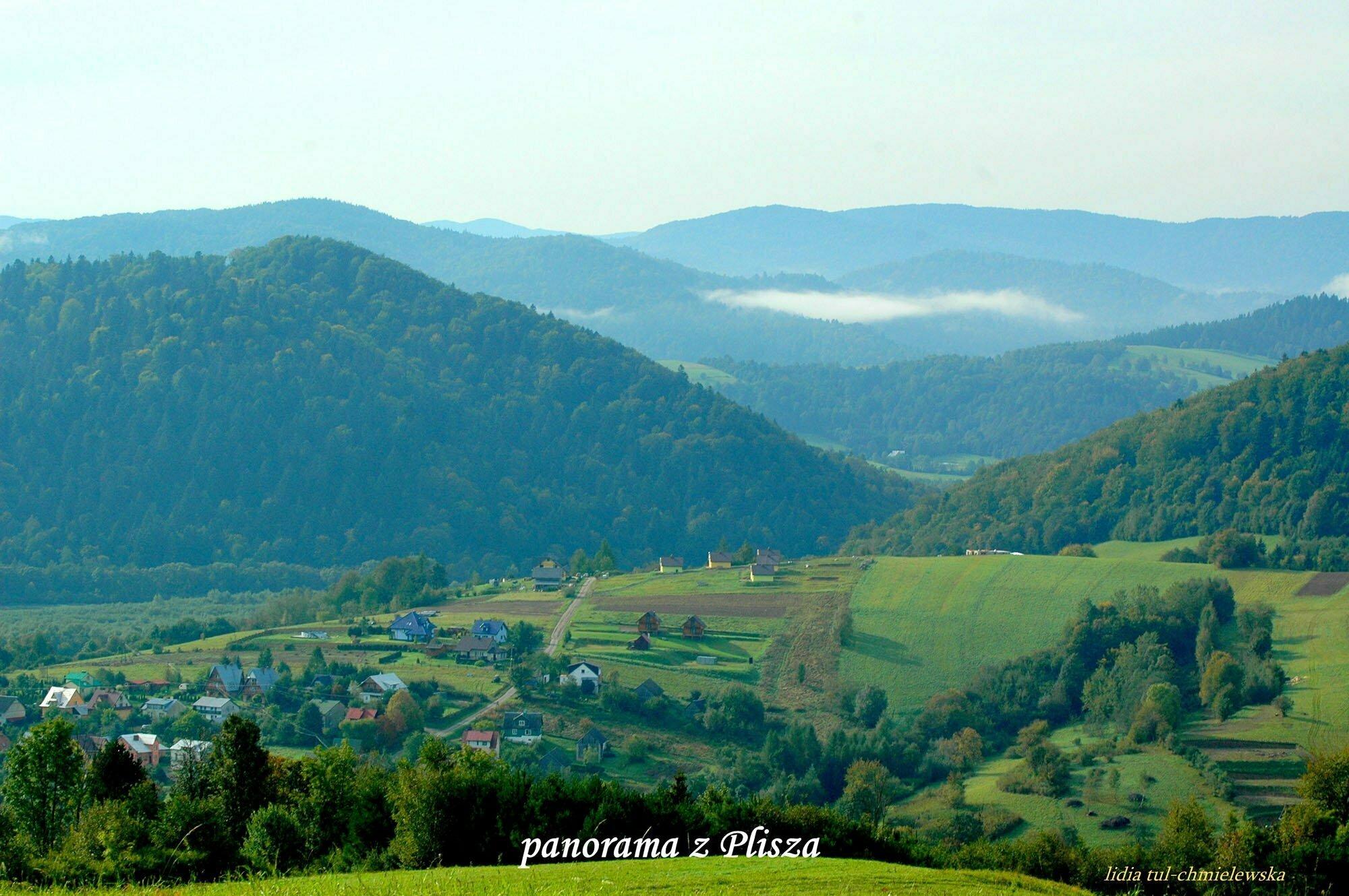 Panorama z Plisza  / fot. Lidia Tul-Chmielewska