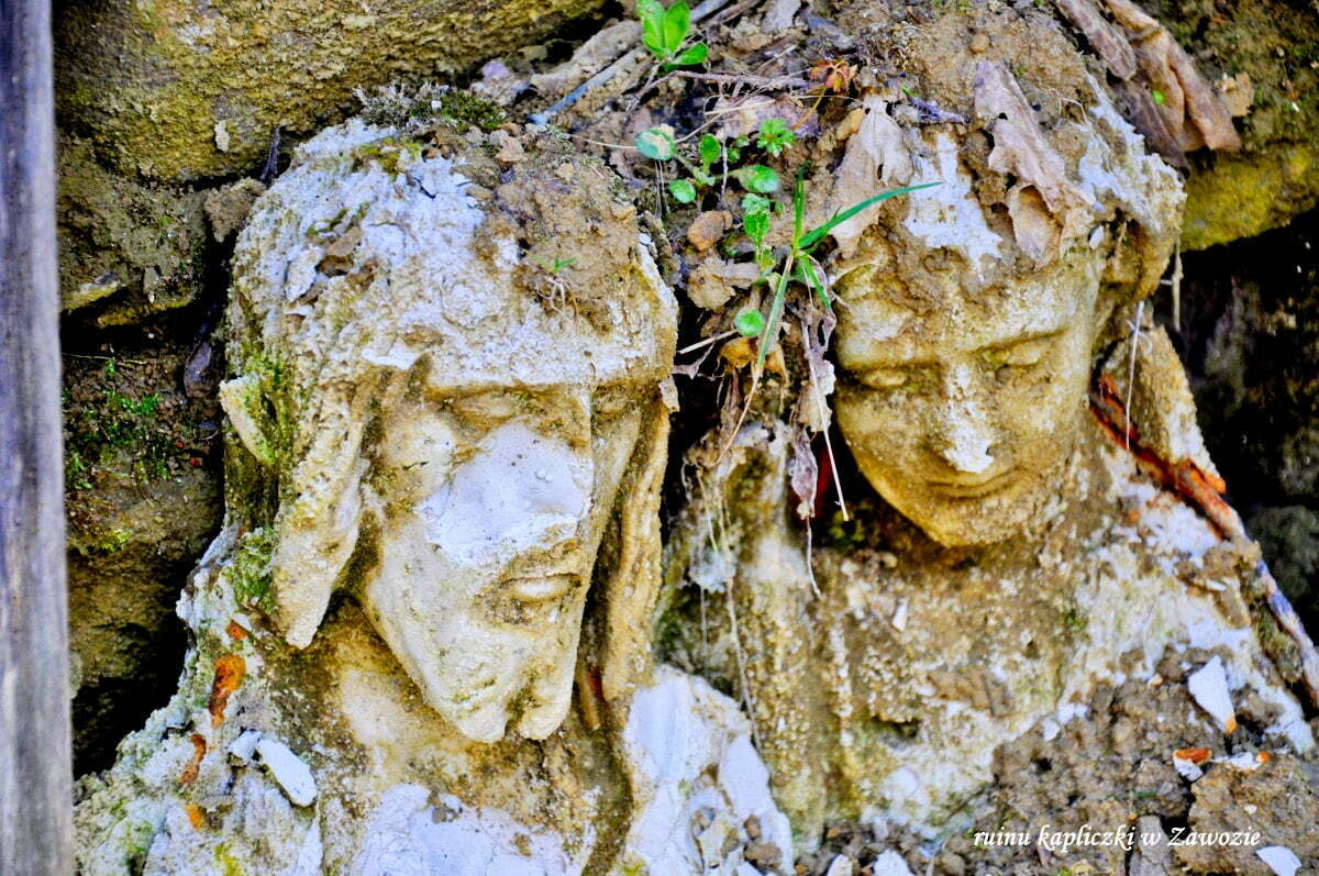 Ruiny kapliczki w Zawozie / fot. Lidia Tul-Chmielewska