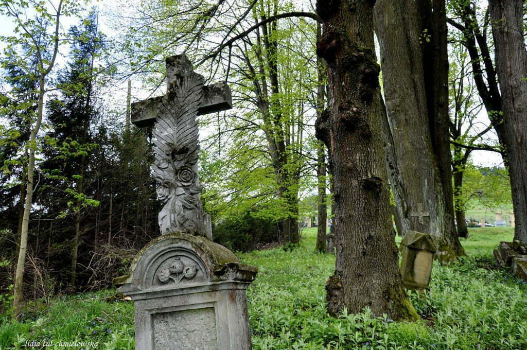 Stary cmentarz, Berehy Dolne / fot. Lidia Tul-Chmielewska
