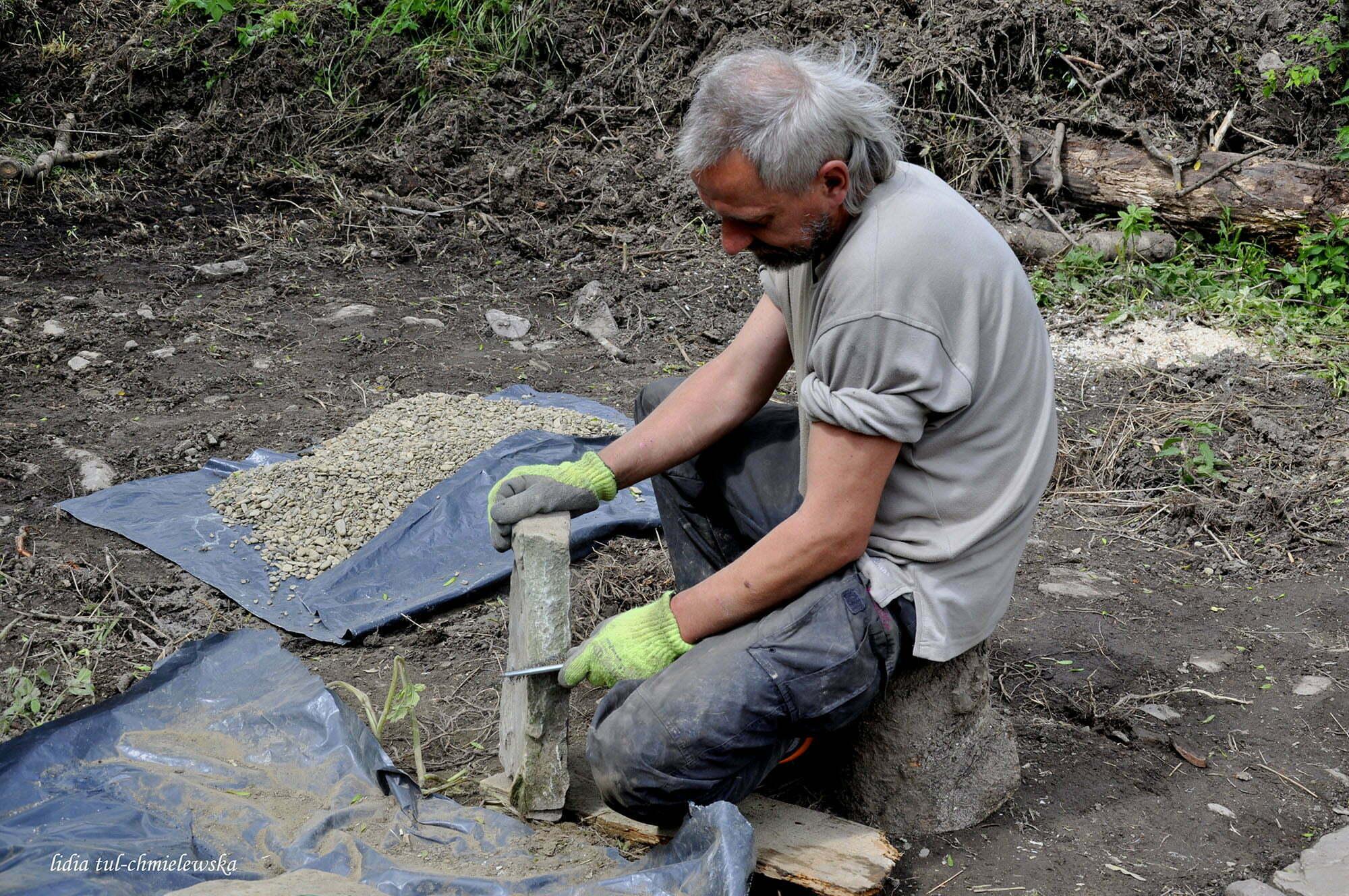 Archeolodzy w Łopience / fot. Lidia Tul-Chmielewska