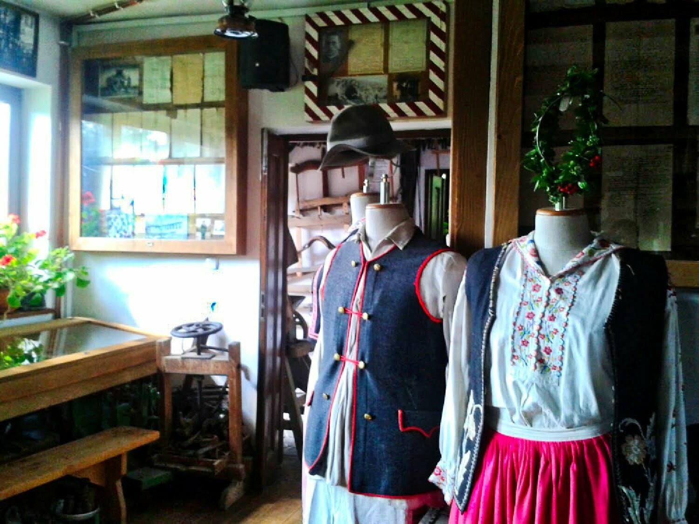 Myczkow - wnętrze Muzeum Bojków / fot. Aneta Jamroży