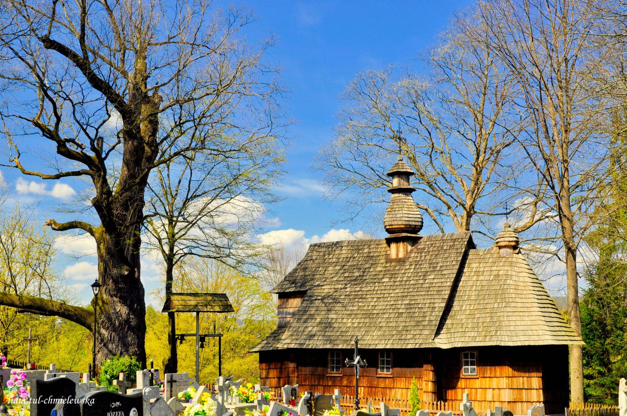 Miniaturowa cerkiew w Łodzinie pw. Narodzenia NMP / fot. Lidia Tul-Chmielewska