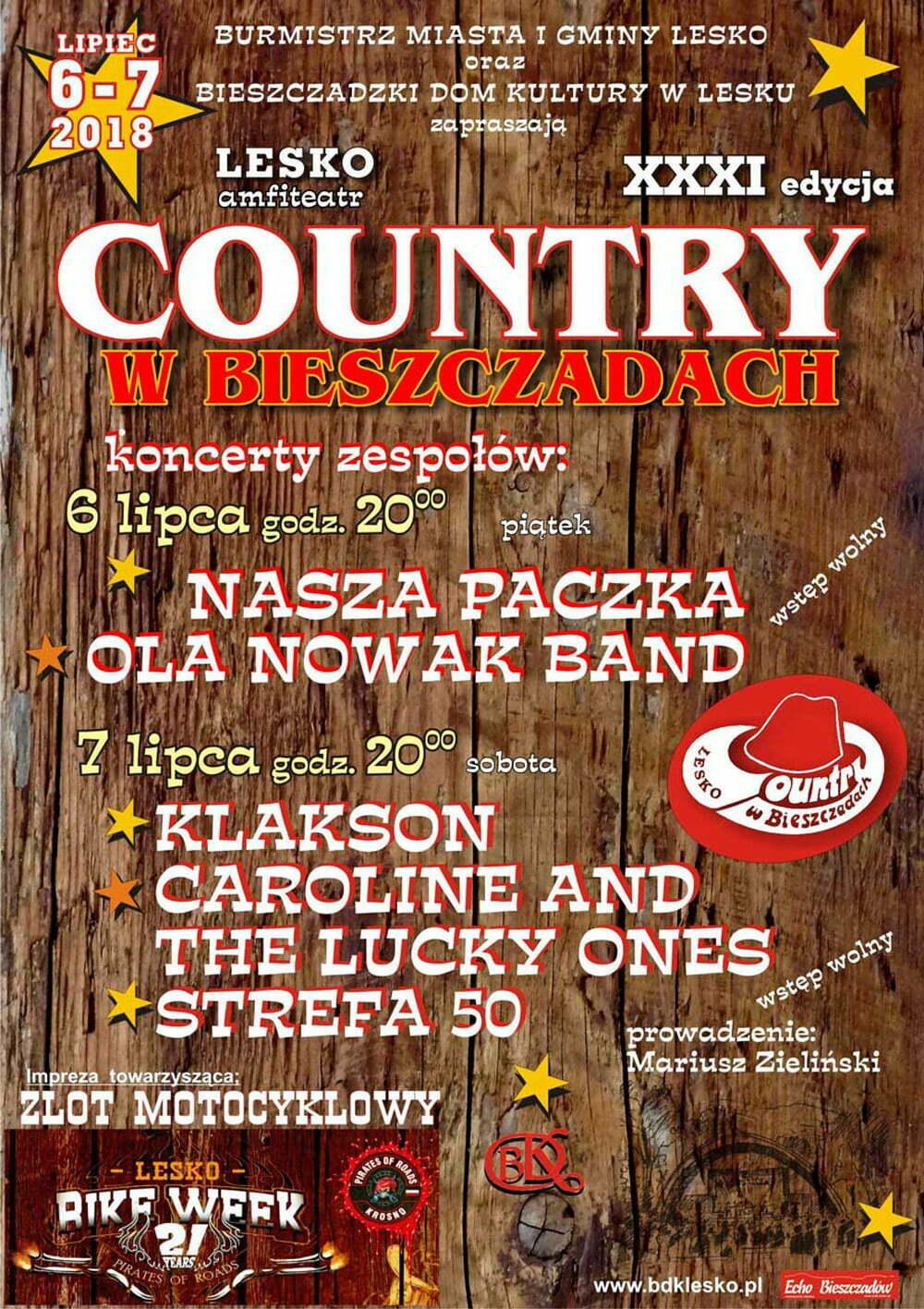 country-bieszczady-lesko-2018